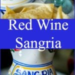 Red Wine Sangria made with citrus fruit, brandy and triple sec is a cool and refreshing summertime drink. Perfect for Cinco de Mayo celebrations too!