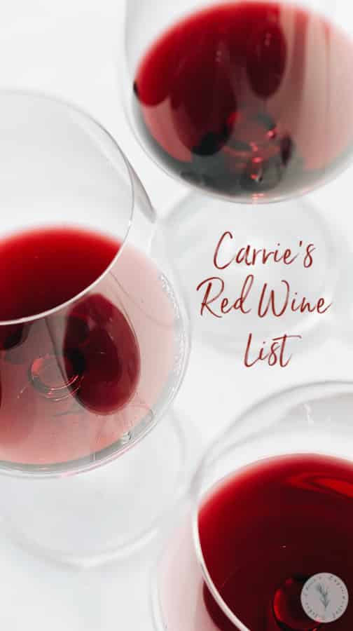 Looking for an everyday bottle of red wine that won't break the bank? I've got you covered with some of my inexpensive favorites!