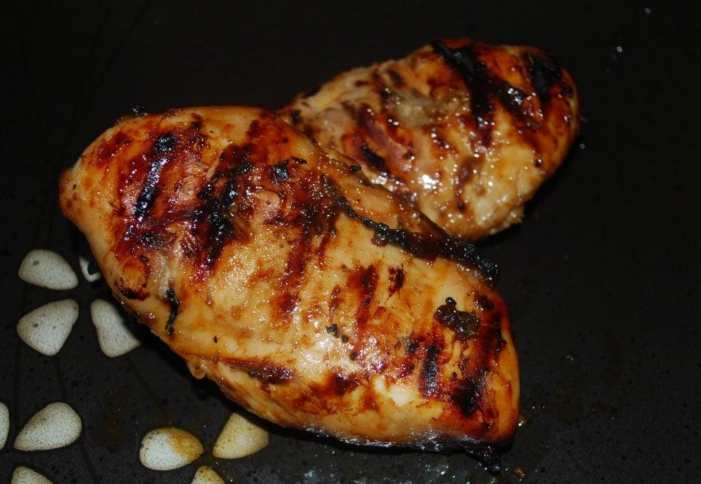 Balsamic Honey Mustard Grilled Chicken