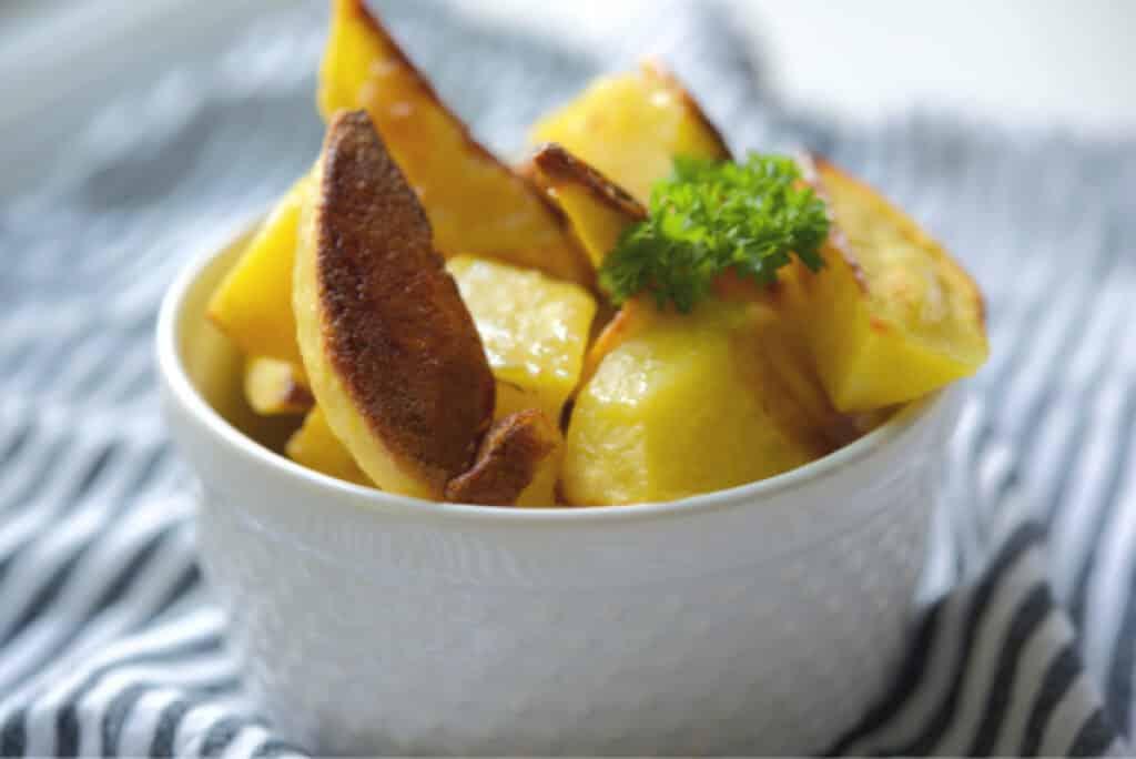 Frites de bifteck au sel de mer rôti