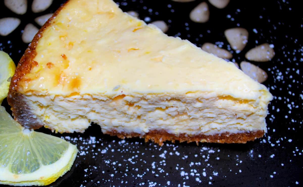 White Chocolate Limoncello Cheesecake