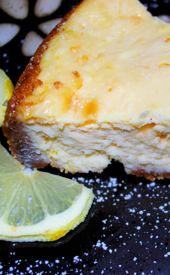 Homemade Limoncello Cheesecake