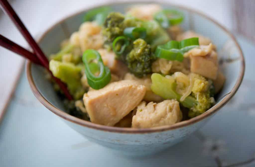 Asian Chicken & Broccoli