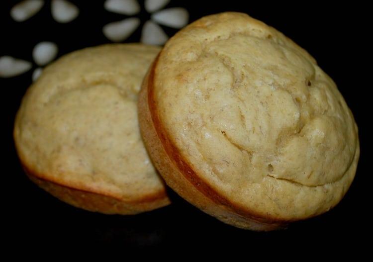 Eggnog Banana Muffin Tops