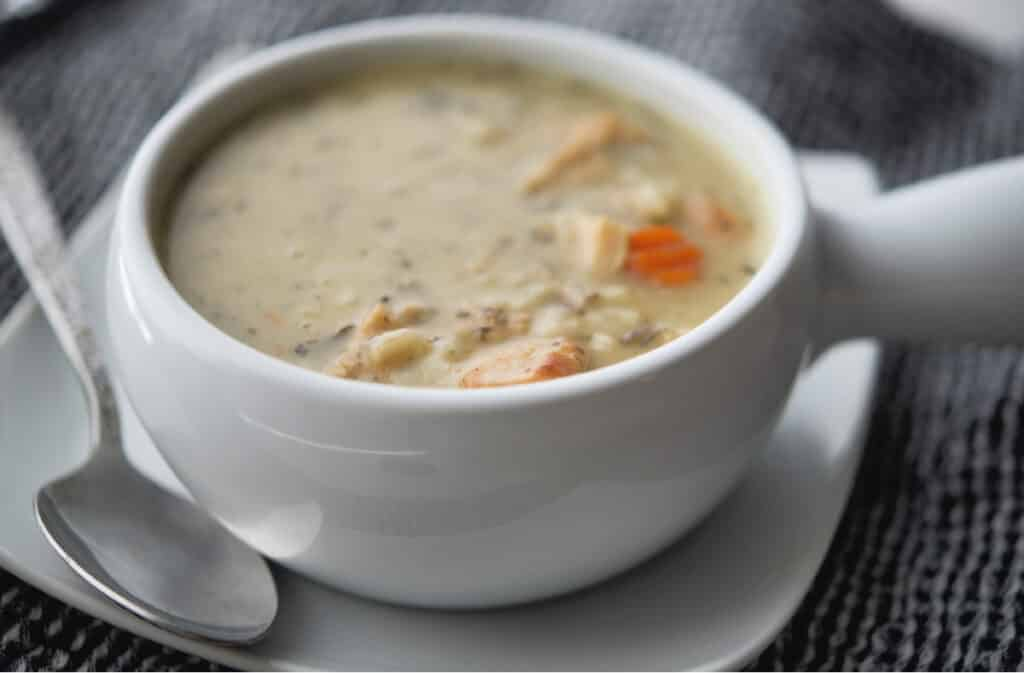 Chicken and Wild Rice Soup Panera Copycat