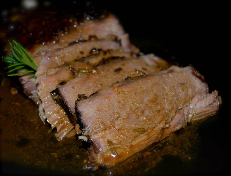 Marsala & Lemon Roasted Beef Brisket - Carrie s Experimental Kitchen