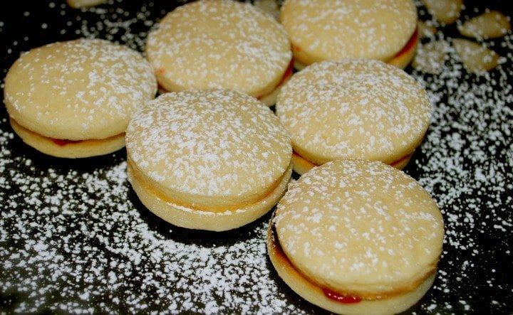 Mini Raspberry Linzer Tarts