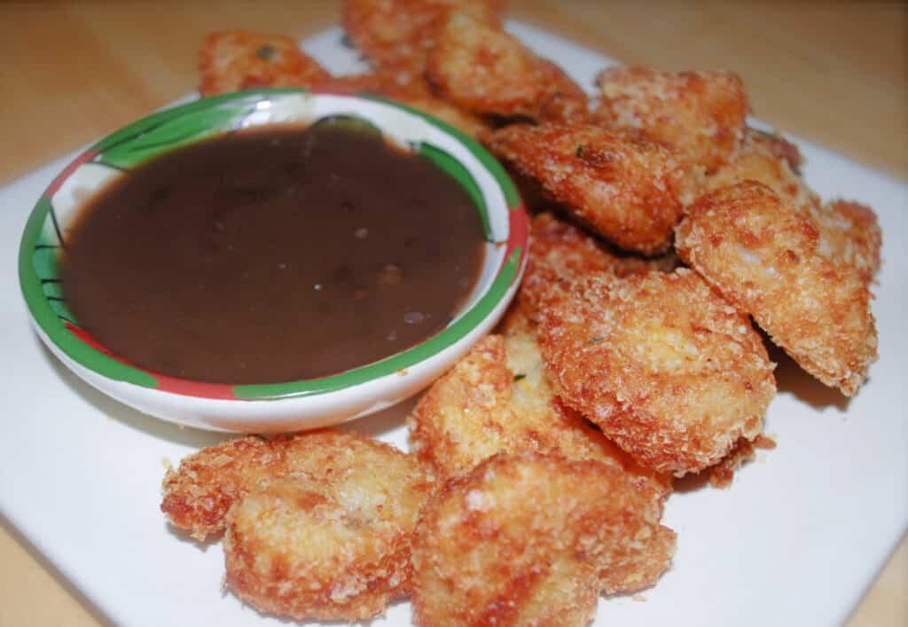 Potato Encrusted Fried Shrimp