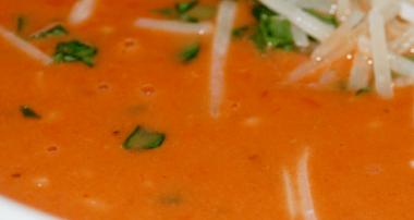 Asiago Tomato Basil Soup