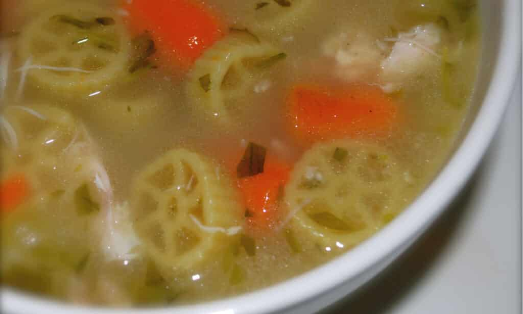 Turkey Tarragon Soup