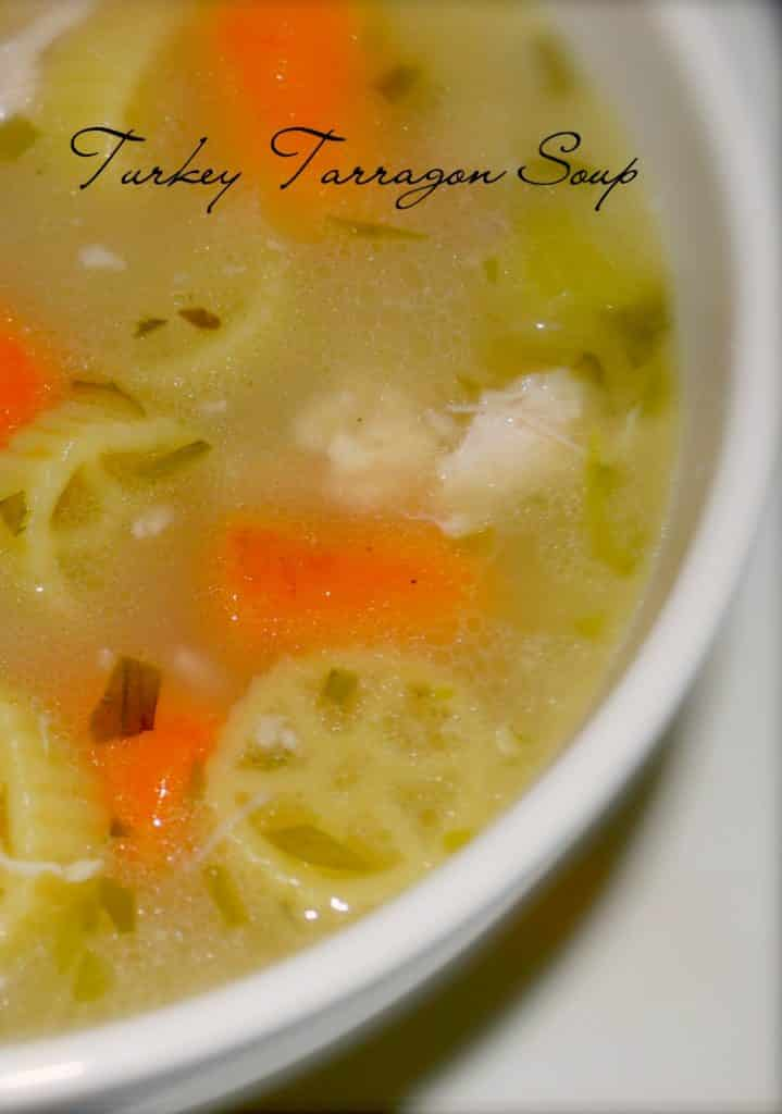 Turkey Tarragon Soup