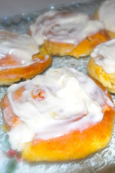 These Cinnabon Copycat Cinnamon Rolls taste just like the restaurant version; especially when topped with my homemade cream cheese icing.