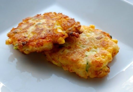 Recipe Fried Corn Cakes