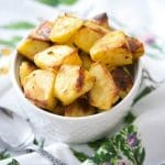 Dijon Rosemary Roasted Potatoes