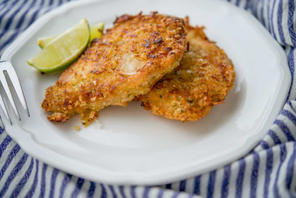 Coconut and Lime Pork Cutlets