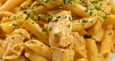 Grilled Chicken Buffalo Pasta
