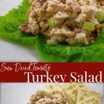 Give leftover turkey a Mediterranean twist by adding sun dried tomatoes and fresh rosemary in this delicious turkey salad.