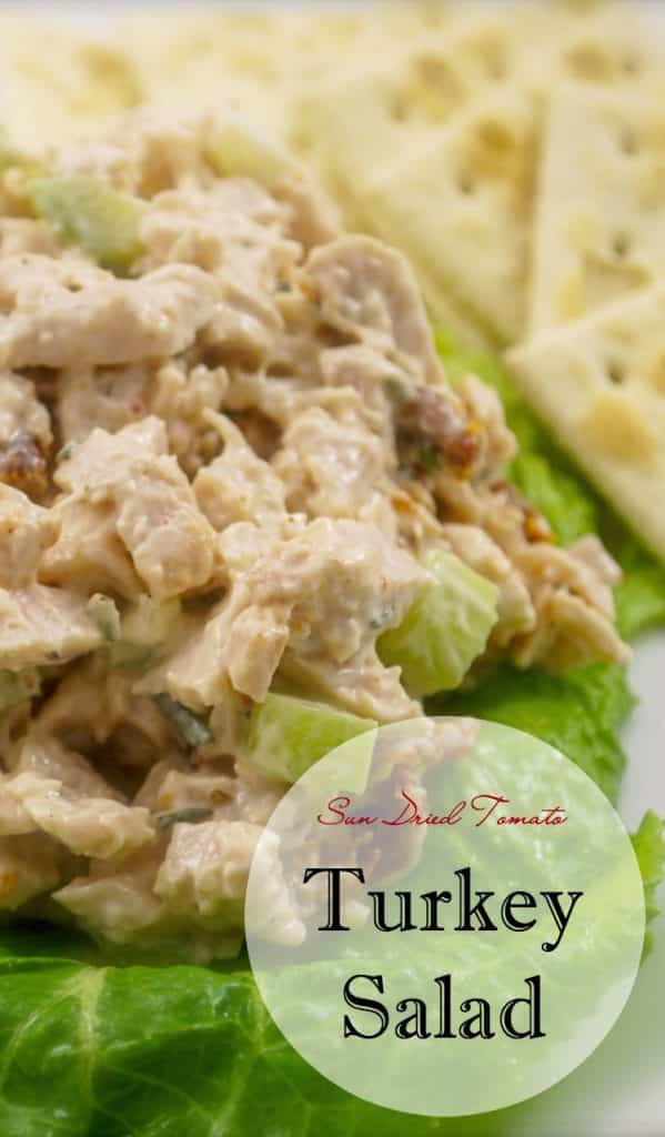 Sun Dried Tomato Turkey Salad Give leftover turkey a Mediterranean twist by adding sun dried tomatoes and fresh rosemary in this delicious turkey salad.