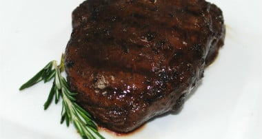 Wine & Balsamic Marinated Filet Mignon