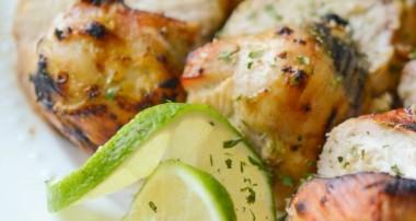 Grilled Chicken in a Lime Sea Salt Brine