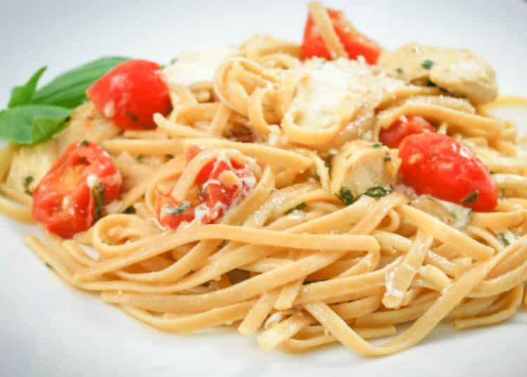 Whole.Grain Linguine Margherita-1