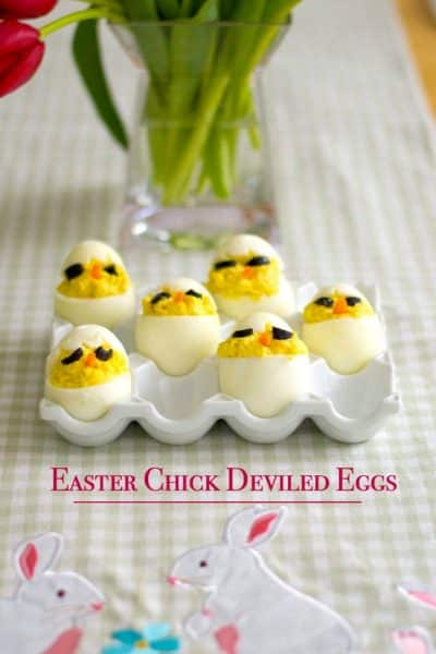Have some fun this Easter by making these Easter Chick Deviled Eggs.