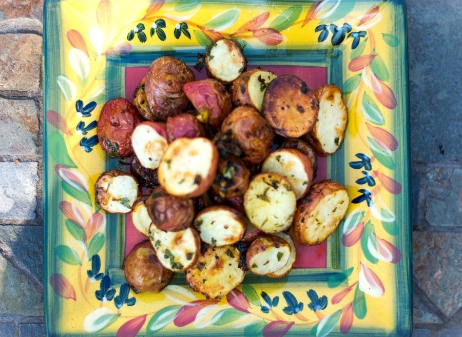 Gremolata Roasted Potatoes