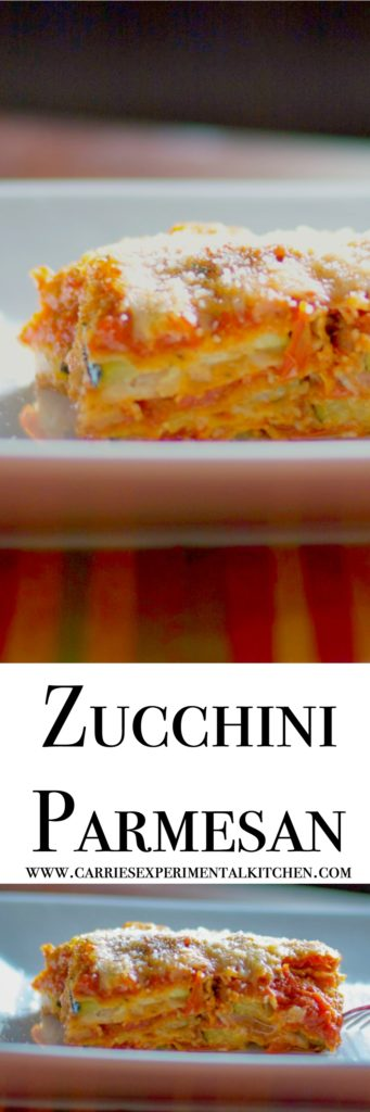 Use up all of that garden fresh Summer zucchini by making Zucchini Parmesan. Perfect for weeknights, feeding a crowd or Sunday supper.
