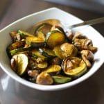 Balsamic Zucchini & Mushrooms
