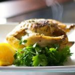 Lemon Roasted Cornish Hens
