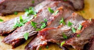 Soy-Ginger Grilled Flank Steak
