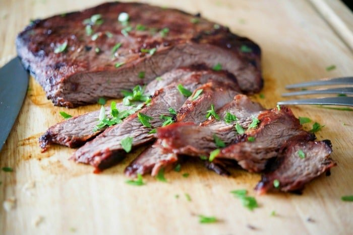 Soy Ginger Grilled Flank Steak