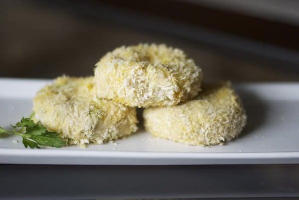 Turkey & Wasabi Mashed Potato Croquettes