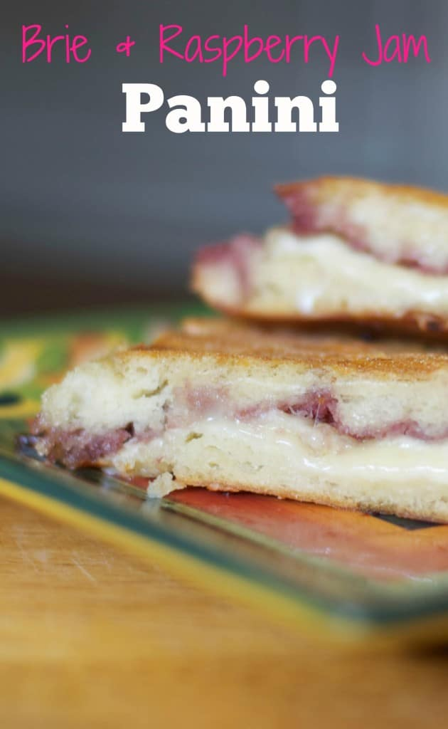 Melted creamy Brie cheese and sweet seedless raspberry jam makes for a ...