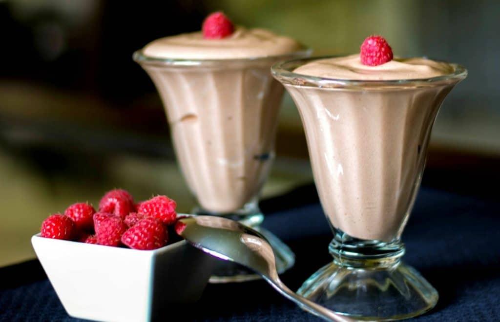 Coffee & Rum Dark Chocolate Mousse