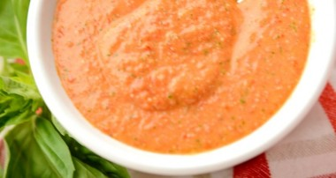 Grape Tomato Vinaigrette