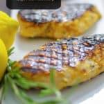 Boneless chicken breasts marinated in a combination of honey, lemon juice and rosemary