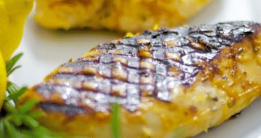 Honey Lemon Grilled Chicken Breasts