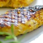 Honey Lemon Grilled Chicken Breasts