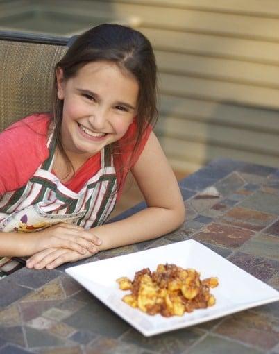 Homemade Gnocchi with Sausage Bolognese