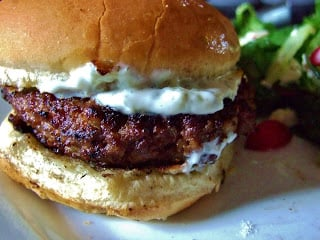 Greek Feta Burger