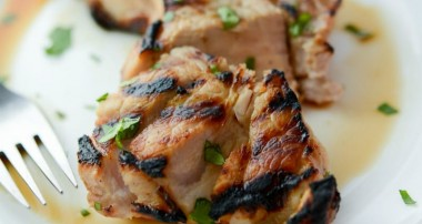 Corona Grilled Pork Chops