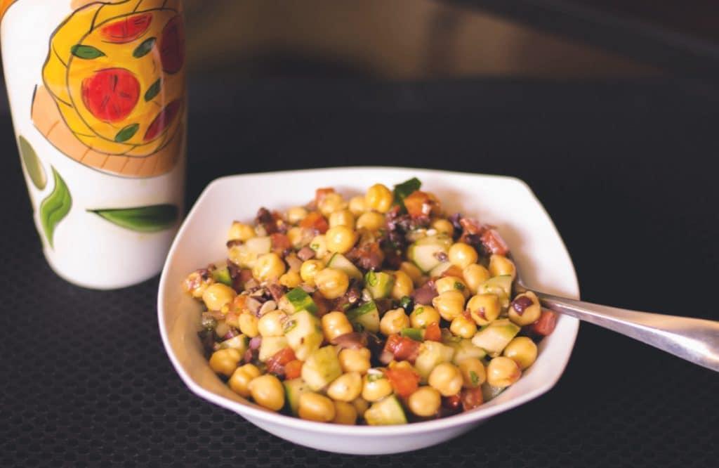 Mediterranean Chick Pea Salad Horizontal2