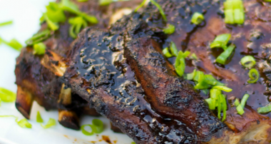 Asian Marinated Pork Spareribs