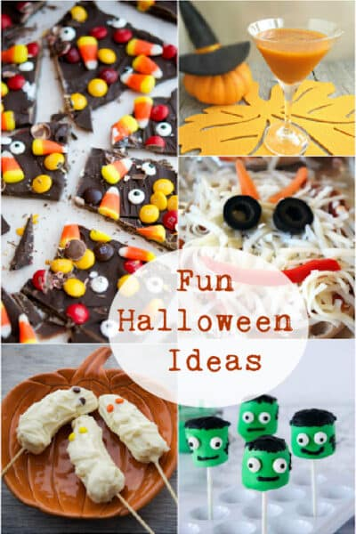 Bats and mummies. Pumpkins and broomsticks. Check out this post of fun Halloween ideas to help celebrate one of America's favorite holidays.