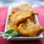 Mustard & Sage Potato Encrusted Pork Cutlets