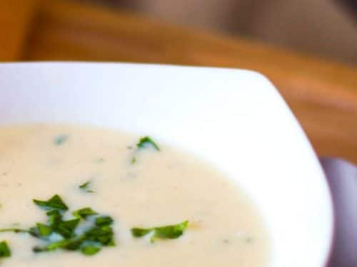 Stracciatella alla Romano (Roman Style Egg Drop Soup)