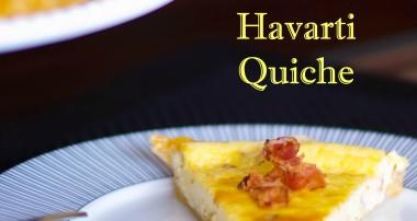 Bacon & Havarti Quiche