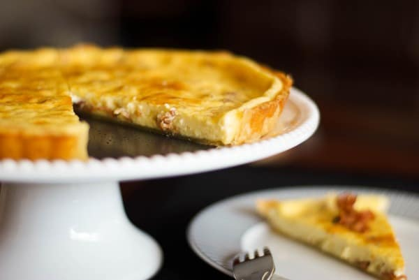 Bacon & Havarti Quiche