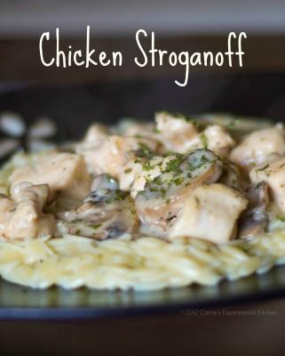 Chicken Stroganoff | Carrie's Experimental Kitchen